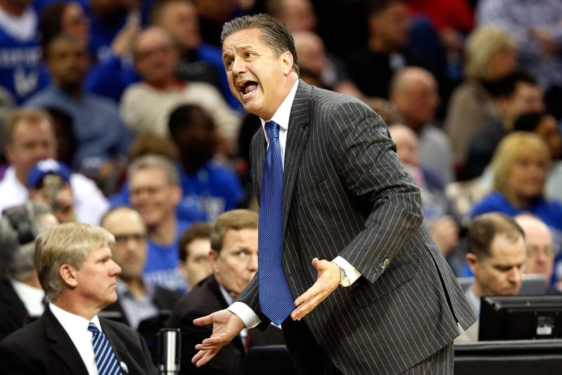 Illustration for article titled Alex Poythress Doesn't Prove That John Calipari Is The Devil