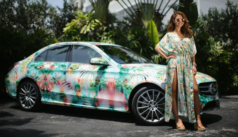 Illustration for article titled Caption a Picture of Maria Menounos and This Matching Car