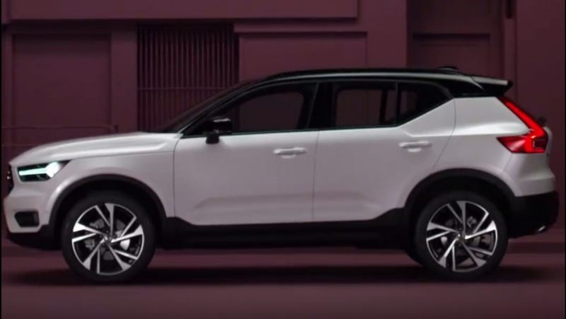 2018 volvo images. exellent volvo back in july the german website for volvo slipped and accidentally  released a partial image of 2018 xc40 today thanks to another leak  to volvo images