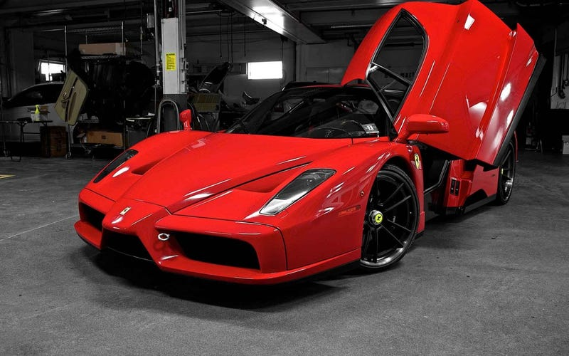 Illustration for article titled Dream Garage #1 : Ferrari Enzo