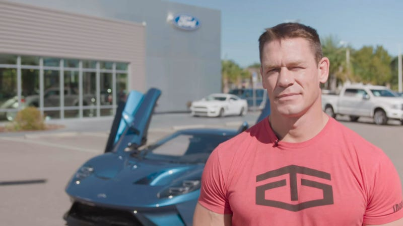 Illustration for article titled John Cena Sued For Selling Ford GT