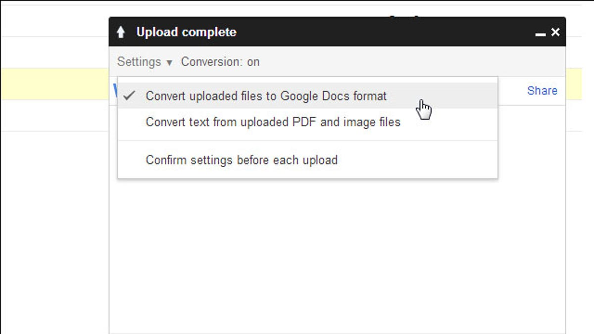 Convert Files To Google Docs Format To Save Space On Google Drive - Google docs
