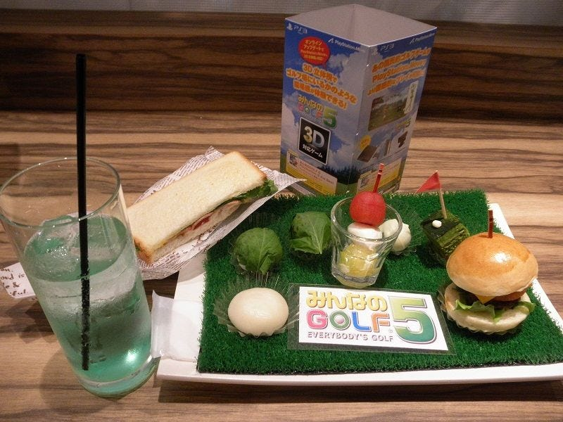 Illustration for article titled Hot Shots Golf Food Looks Cute, Round.