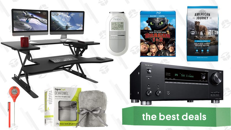 Illustration for article titled Saturday's Best Deals: A/V Receiver, American Eagle Apparel, Shower Heads, and More