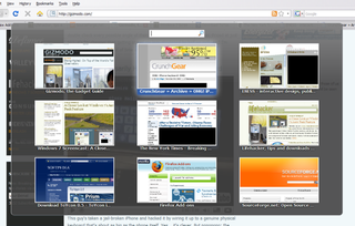 Illustration for article titled Firefox 3.1 Adds Tab Preview Panel