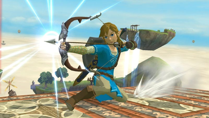 Illustration for article titled Modders Have Already Made Breath Of The Wild's Link For SmashBros