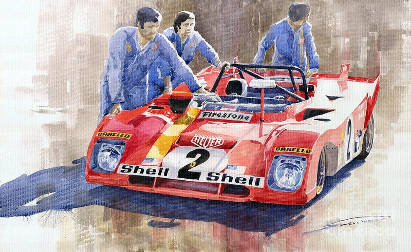 Illustration for article titled Heard this car a few years back at Road America