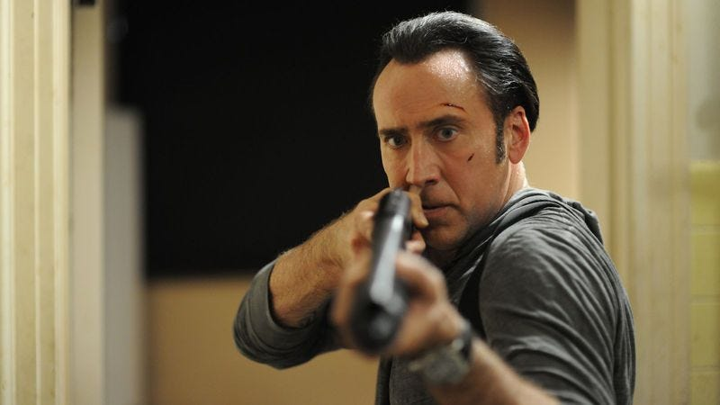 Illustration for article titled Despite all the Rage, it's a lackluster Nicolas Cage