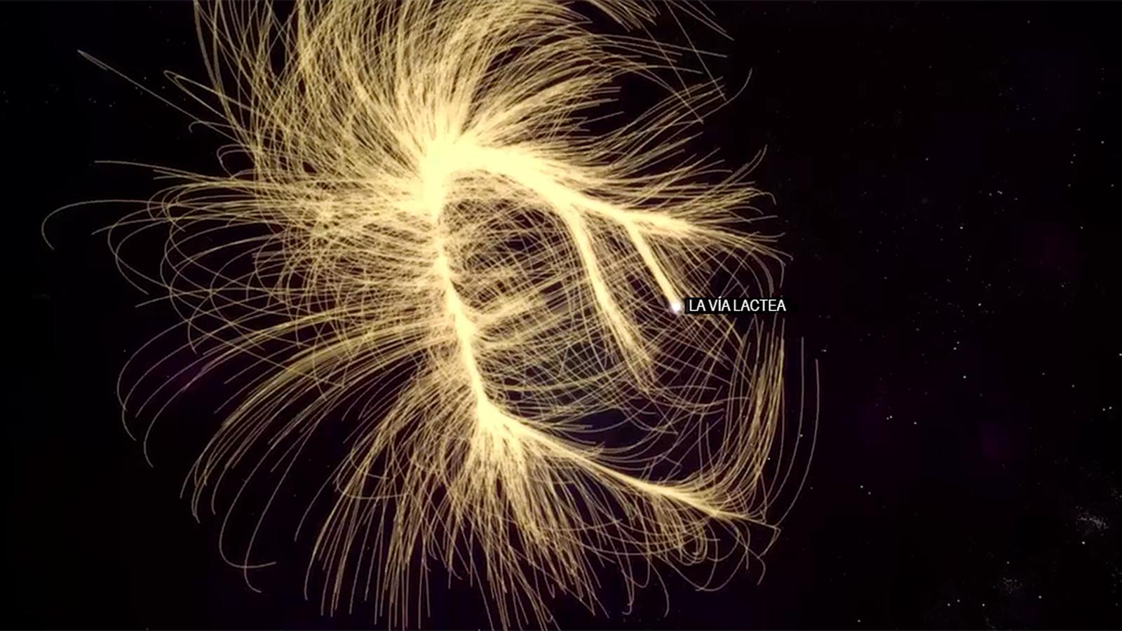 Usted está aquí: descubre tu lugar en el universo con el mapa más preciso hasta la fecha