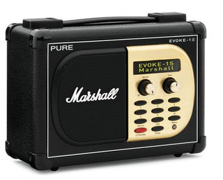 Illustration for article titled PURE Brings Back Marshall Amp For Digital Radio RAWK Times