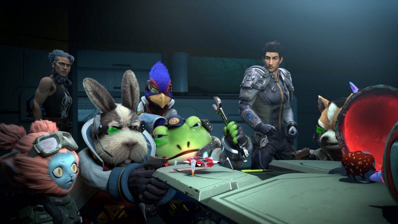 Illustration for article titled Starlink's Latest Update Confirms Star Fox Is Still The Best Part Of The Game