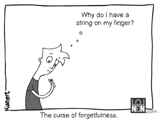 Illustration for article titled Forgetfulness