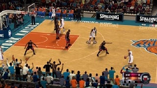 Illustration for article titled If This is the Only NBA on Your TV All Year, NBA 2K12 Supplies the Proper Camera Angle
