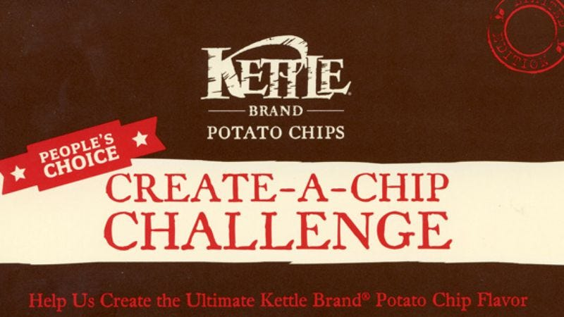"Illustration for article titled Kettle Chips Challenge: ""make your own flavor"" kit"
