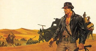Illustration for article titled Comics legend Jim Steranko shows us his early concept art for Indiana Jones