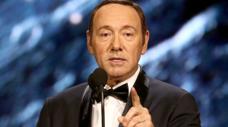 Illustration for article titled Kevin Spacey Is Going to Be Arraigned on a Charge of Sexually Assaulting a Teenager