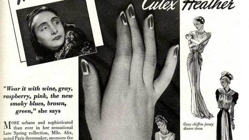 How to do a 30s style moon manicure prinsesfo Images