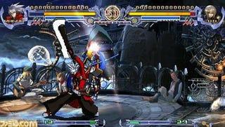 Illustration for article titled BlazBlue PSP Screens Reveal The Lower Res Rebel