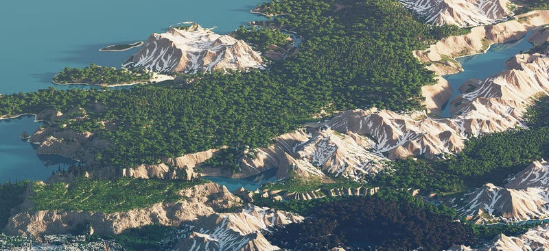 Illustration for article titled Making Minecraft Maps Beautiful
