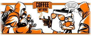 Illustration for article titled Coffee, My Hero