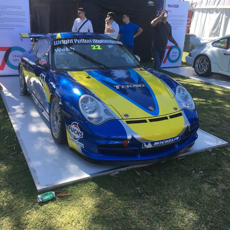 2004 Porsche 911 GT3 cup car