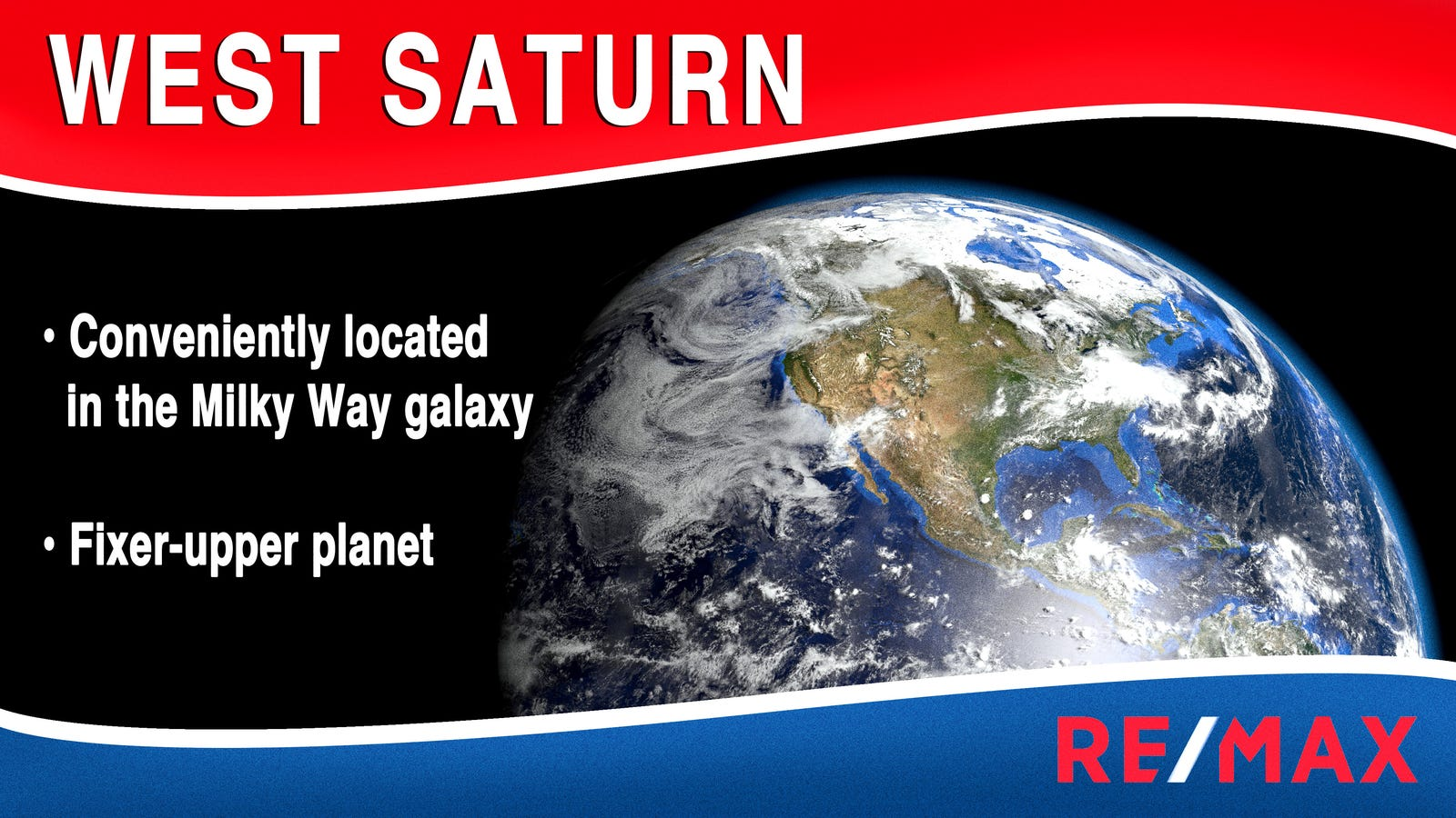 Real Estate Agents Trying To Gentrify Run-Down Earth By Renaming It West Saturn