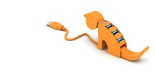 Illustration for article titled Here Kitty Kitty, Must Charge My iPhone Via Your Spinal Fluid