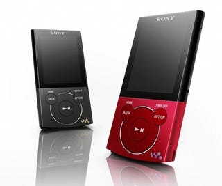 Illustration for article titled Sony's E and B Series Walkman For Entry Level Listening