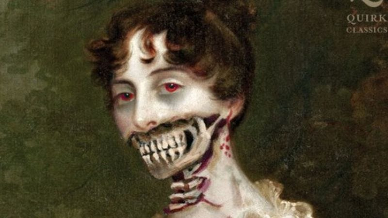 Illustration for article titled Pride And Prejudice And Zombies courted by another director and star who promise to take its hand, attack it with zombies