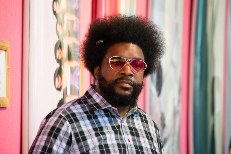 Questlove at the Sixth Annual Hamptons Paddle & Party for Pink to Benefit Breast Cancer Research Foundation on Aug. 5, 2017, in Bridgehampton, N.Y. (Steven Henry/Getty Images for Breast Cancer Research Foundation)