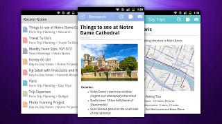 Illustration for article titled Microsoft OneNote Comes to Android, Syncs with Microsoft SkyDrive