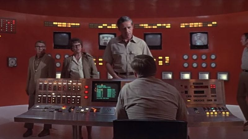 andromeda strain 1971 essay The andromeda strain is a 1971 american science fiction film produced and directed by robert wise based on michael crichton's 1969 novel of the same name and adapted.