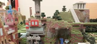 Illustration for article titled Los fabulosos mundos de Minecraft impresos en 3D