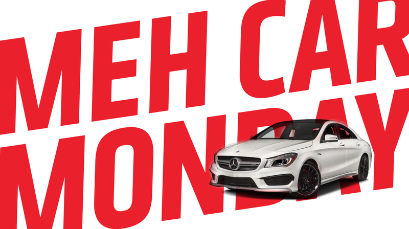 Illustration for article titled Meh Car Monday: The Old Mercedes-Benz CLA Is Really Pretty Mehcedes-Boringz