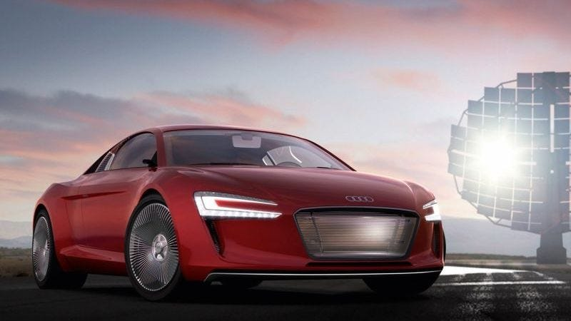 Illustration for article titled Audi Might Develop An Electric Supercar Again Despite The First Two Not Working Out