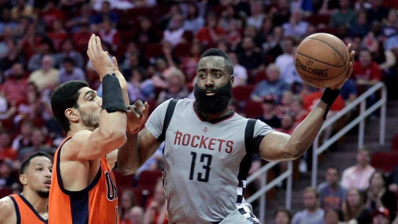 Rockets' James Harden becomes first ever to score, assist on 2000 points