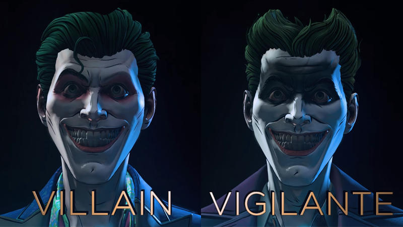 "Villain or Vigilante should come down to something more morally conscious than ""who has the better hair?"", but honestly bad guy Joker wins here."