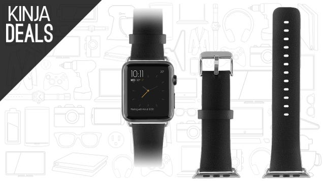 Add a Leather Strap to Your Apple Watch For $10
