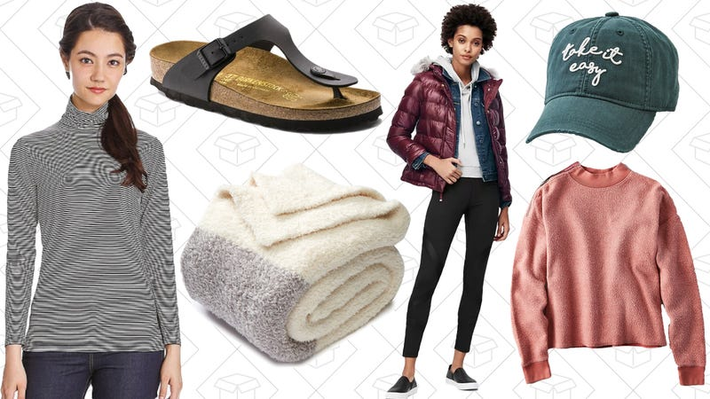 Illustration for article titled Today's Best Lifestyle Deals: Birkenstocks, Uniqlo HEATTECH, American Eagle, and More