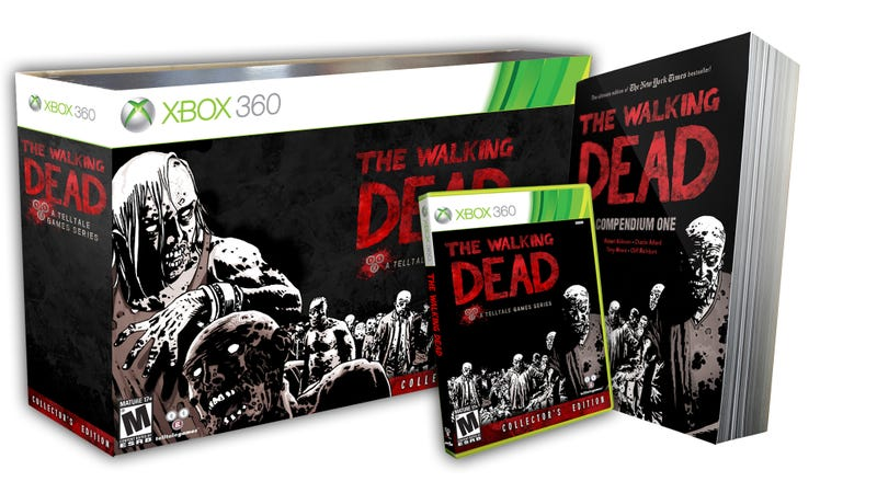 Illustration for article titled Episode Five of The Walking Dead Should Be Out by December, Along With This Snazzy Retail Edition