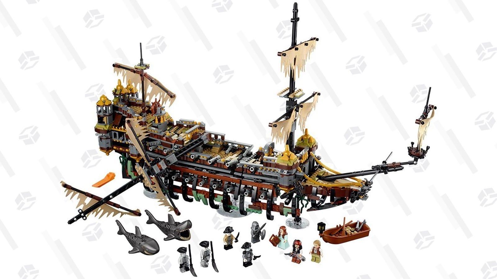 8e78e4e3b2 LEGO s Pirates of the Caribbean Silent Mary kit includes nearly 2300  pieces