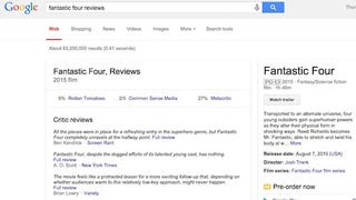 """Illustration for article titled Add """"Reviews"""" to Movie Searches on Google to Get Snippets of Critic Reviews"""