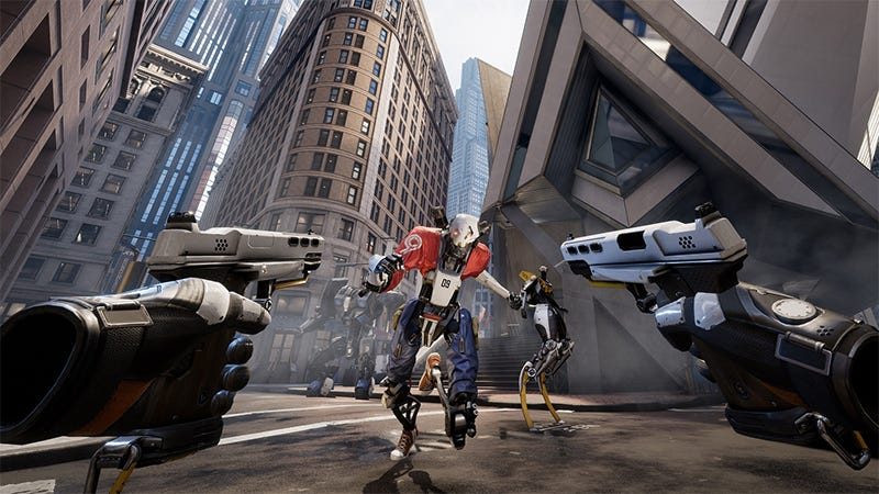 Illustration for article titled Robo Recall Is Epic's First Full VR Game, And It's Free