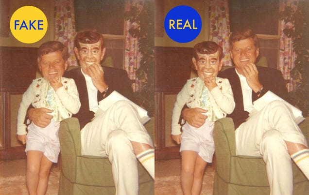 12 More Viral Photos That Are Totally Fake