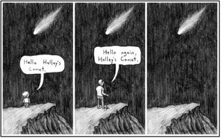 Illustration for article titled Halley's Comet, Or Why We Need Photographs