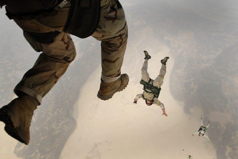 Es posible caerte de grandes alturas y sobrevivir.