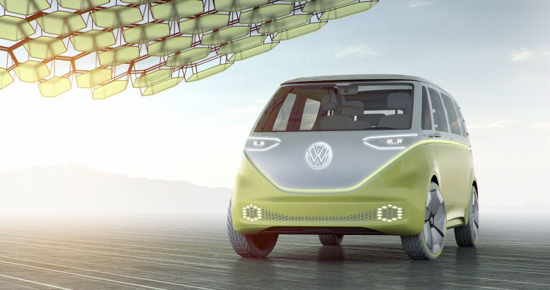 Illustration for article titled Volkswagen Is Finally Bringing Back The Iconic Microbus In Five Years: Report