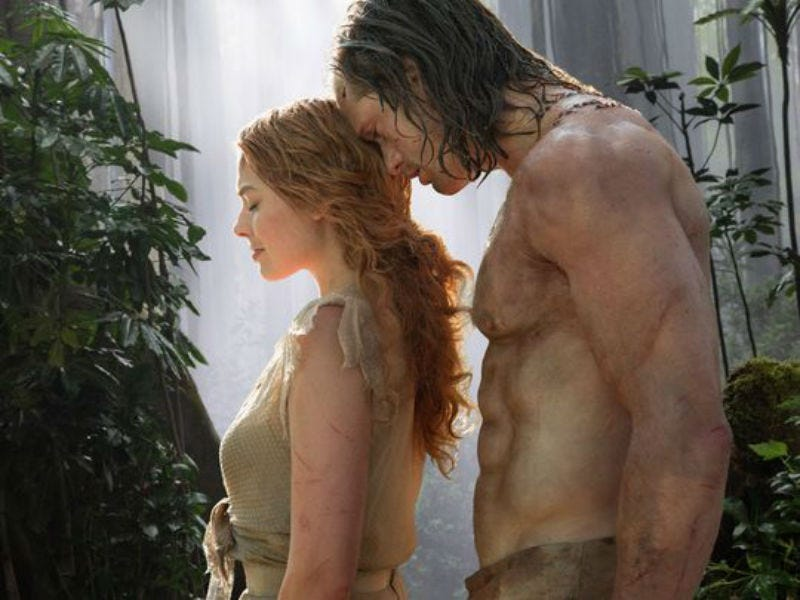 Illustration for article titled First Look at the New Tarzan Movie, Starring Alexander Skarsgård's Abs