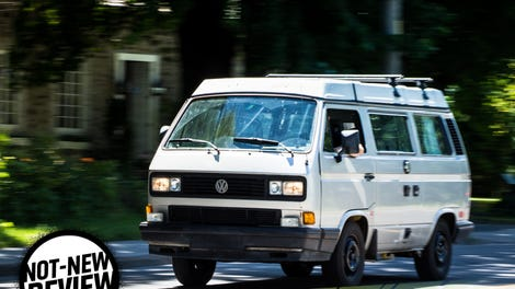 This Volkswagen Bus Isnt Going To Let Something As Stupid Total Destruction Stop It
