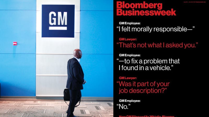Illustration for article titled Bloomberg Businessweek: GM Punished Those Who Spoke For Safety